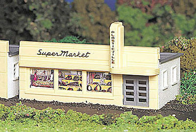 Bachmann Plasticville 45141 Supermarket 'H0' Gauge Plastic Kit - 1st Class Post