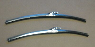 """Mopar 68-70 B-Body / 67-75 A-Body 15"""" Trico Style Wiper Blades and Holders NEW"""