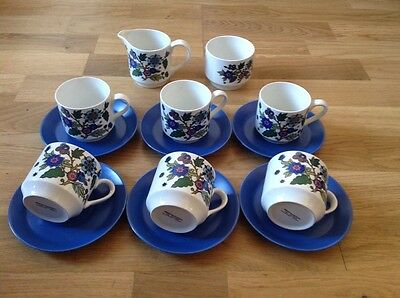 14 Piece Coffee Set by Midwinter Fine Table Ware Staffordshire England