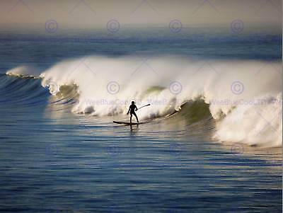 POSTER PRINT PHOTO SPORT SHOT SURF SURFING SURFER WATER SURFBOARD SEA SEB526