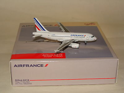 562232 1:400 Herpa Wings 400 Air France A318 F-GUGD free shipping