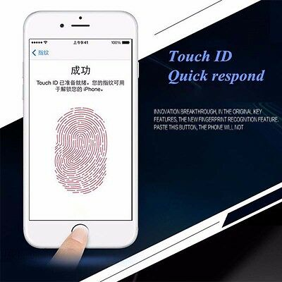 New Touch ID Finger Identification Home Button Sticker for iPhone6/6p 5/5s Ipad