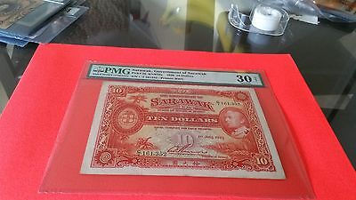 sarawak 1929 rarest date for $10. rarely offered for this date