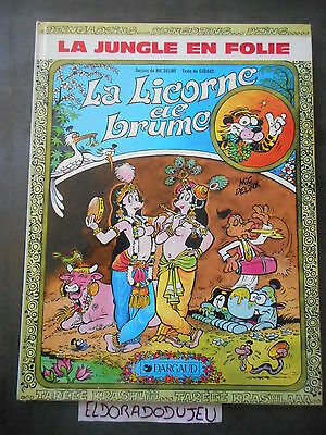 Eldoradodujeu > Bd - La Jungle En Folie La Licorne De Brume - Dargaud Eo 1984 Be