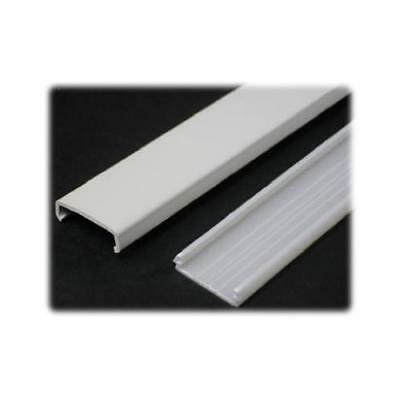 Wiremold NM1 5-Ft. Ivory Plastic Channel Wiremold - Quantity 1