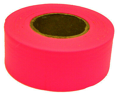Hanson C H 17003 150-Ft. Glo Pink Flagging Tape
