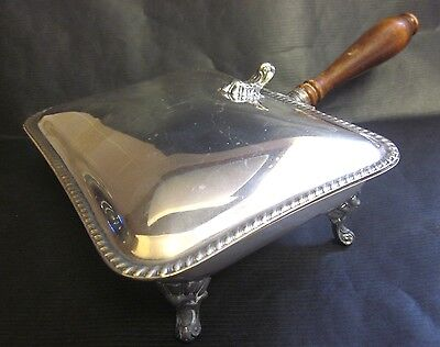 Silent Butler Crumb Ash Catcher FB Rogers Silver Co 186 Collection