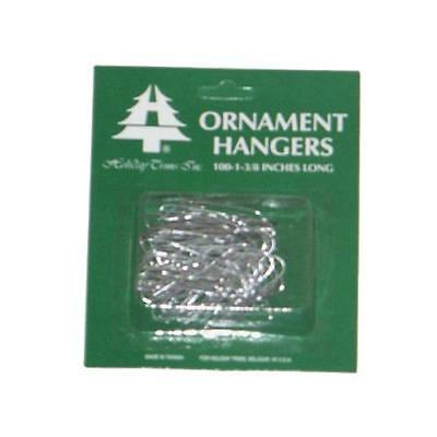 Holiday Trim 3926000 Ornament Hooks, Silver, 100-Ct. - Quantity 1