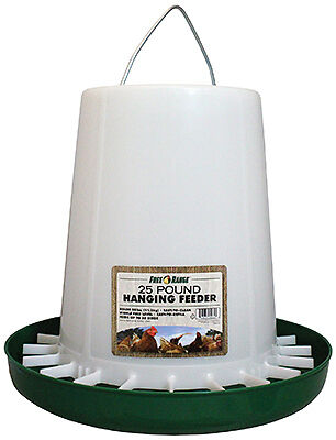 Harris Farms 4232 Hanging Poultry Feeder, 25-Lb. Capacity - Quantity 1