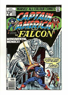 Captain America Vol 1 No 222 Jun 1978 (VFN+ to NM-) Bronze Age (1970 - 1979)
