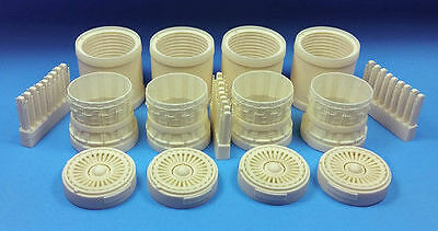 1/48 BarracudaCast BR48237 B-1B Late Exhausts NO Turkey Feathers for Revell