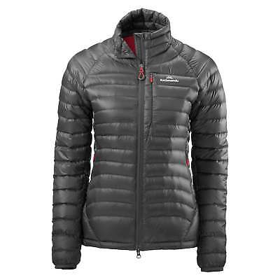 Kathmandu XT Ultralight Womens Warm Insulated Down Winter Puffer Jacket v2 Grey
