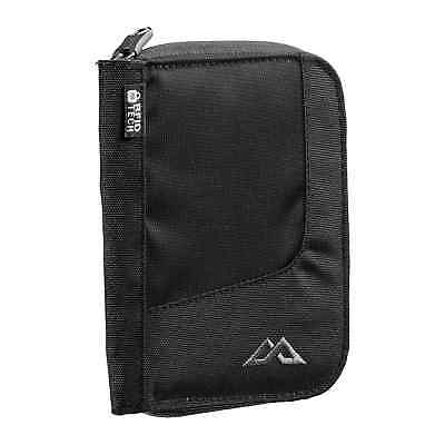 Kathmandu Departure Small RFID Security Travel Document Card Wallet v4 Black