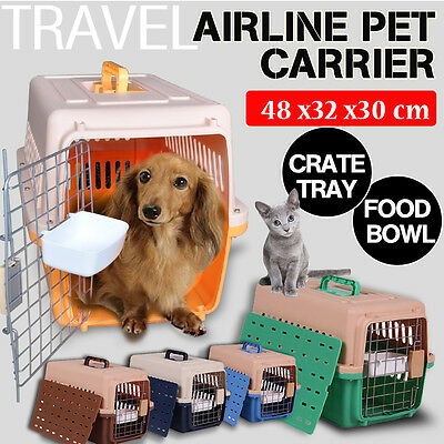 Airline Approve Dog Cat Portable Tote Crate Pet Carrier Kennel Travel Carry Bag
