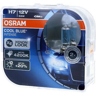 H7 OSRAM Cool Blue Intense - Scheinwerfer Lampe - DUO-Pack NEU