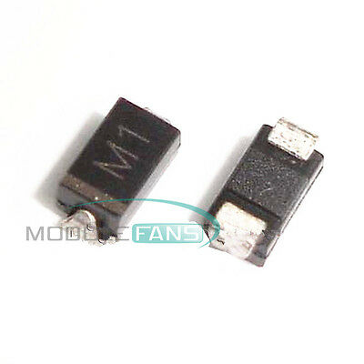 100Pcs 1N4001 IN4001 M1 DO-214 (SMD) TOSHIBA Diode M