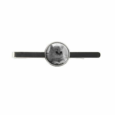 Persian Cat Mens Tie Slide Ideal Birthday Wedding Or Father Day Gift C345
