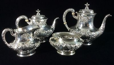 Gorham Buttercup Sterling Silver 4 piece Tea Service