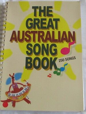 The Great Australian Song Book 250 Songs