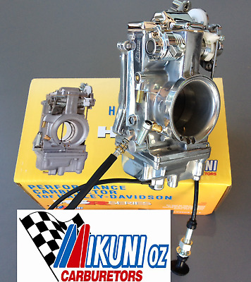 Mikuni Carburetor TM42-6 HSR42 Polished & Chrome for Harley Davidson