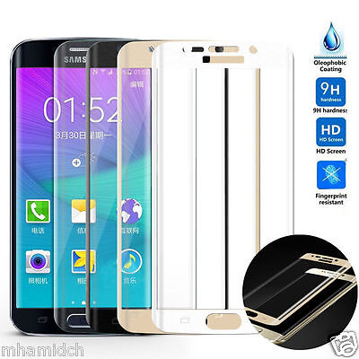 FULL COVERAGE 3D SAMSUNG GALAXY S6 EDGE / Plus Tempered Glass Screen Protector