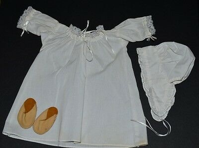 Felicity Night Shift~Cap~Mules! Pleasant Company 1991 Tag! Nightgown! Retired