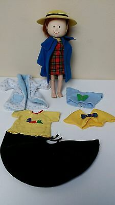 MADELINE- Eden Toys- Doll and Clothes- Poseable- Pepito Cape