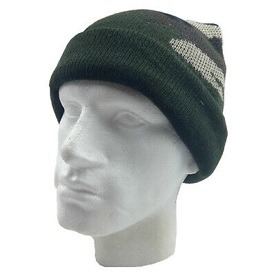 CAMO BEANIE Hat Winter Ski Army Military Camouflage Hunter Hunting Fishing 2042