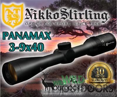 Nikko Stirling - Rifle Scope - Panamax - 3-9x40 - Half Mil Dot Reticle