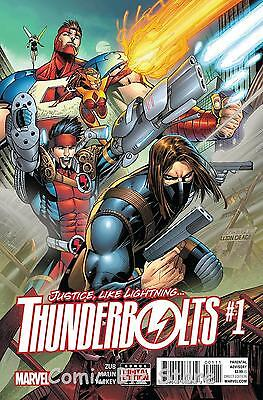 Thunderbolts #1 (2016) 1St Printing Bagged & Boarded