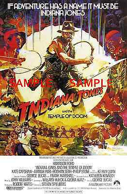 "The Temple of Doom ( 11"" x 17"" ) Movie Collector's Poster Print (T2) - B2G1F"