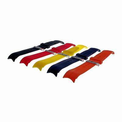 Rubber Submarine divers strap with molded lugs compatible with Rolex and Omega