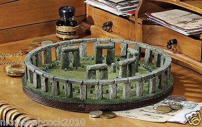 Ancient Stonehenge Prehistoric Monument In Wiltshire, England Sculpture Collect