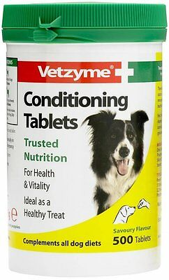 Vetzyme Conditioning Tablets, 240 Tablets - Dog/Puppy/Animal