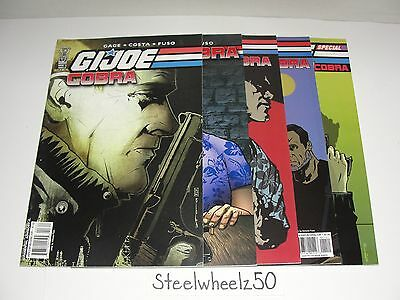 GI Joe Cobra 5 Comic Lot IDW 2009 #3 4 10 11 Special 2 Chuckles Chameleon Gage