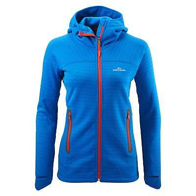 Kathmandu XT Surna Womens Hooded Technical Performance Fleece Jacket Blue