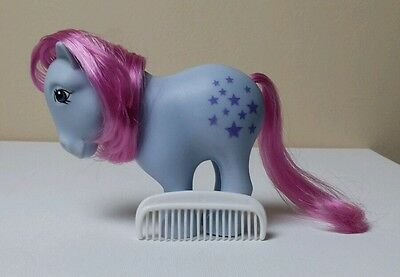 BLUEBELLE- 2007 Reissue with G1 Comb My Little Pony
