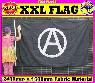 Anarchy flag for house wall pole sports event man woman cave