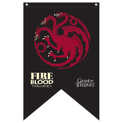 Game of Thrones House Targaryen Large Wall Cape Flag Banner man Cave Bar Gift