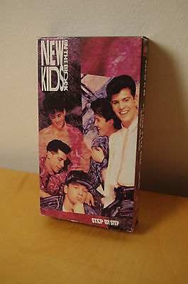 STEP BY STEP- New Kids on the Block VHS