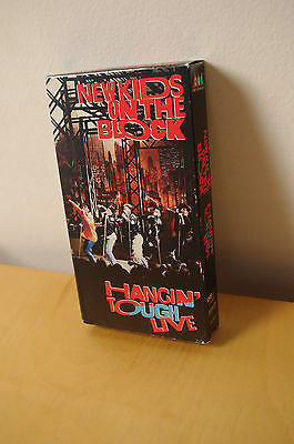 HANGIN TOUGH LIVE- New Kids on the Block VHS