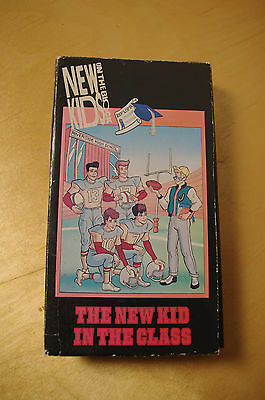 NEW KID IN CLASS- New Kids on the Block Animated TV Show- VHS
