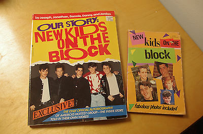 PAPERBACKS- New Kids on the Block- Official Autobiography- 1990s NKTOB Boy Band