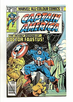 Captain America Vol 1 No 236 Aug 1979 (VFN+ to NM-) Bronze Age,Daredevil appears