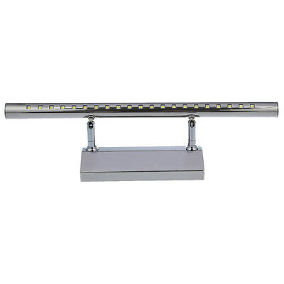 5W SMD5050 21LED Stainless Steel Mirror Light Bath Lamp Wall WD