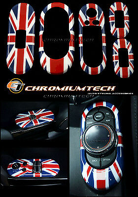 Union Jack Centre+ Window Control Panel Cover MK3 MINI Cooper/S/ONE F55 5D Hatch
