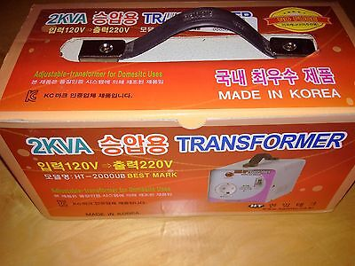 Haniltech  Ht-2000Ub 2Kva Up Transformer 120-220V No Fuse