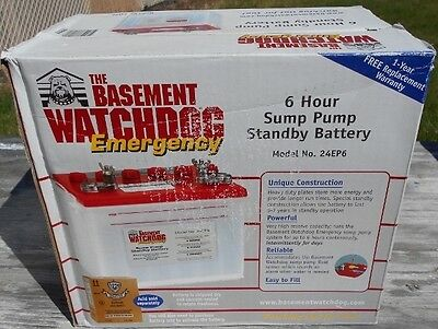 Basement Watchdog Battery Model 24Ep6