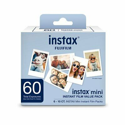 60 Prints Fuji Fujifilm Instax Instant Mini Film for Neo 90 9 8 25 50 7s SP1,2