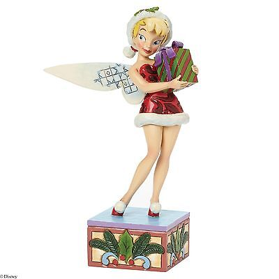 Traditions De Disney Holiday Souhaits Tinker Bell Noël Figurine 19cm 4041808